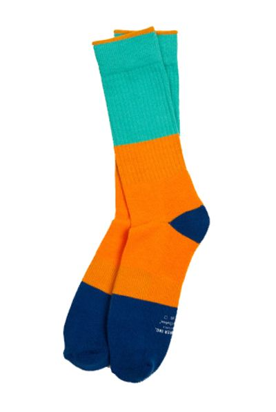 Style it up at the skatepark in the Richer Poorer Everyman Skate Socks. Knit from a comfortable, colorful Coolmax cotton-blend, these socks are ankles apart from the rest. Coolmax, cotton-blend, mid-calf height. http://www.zocko.com/z/JEVSV