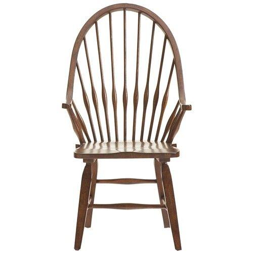 attic rustic windsor arm chair by broyhill furniture | broyhill, Esstisch ideennn