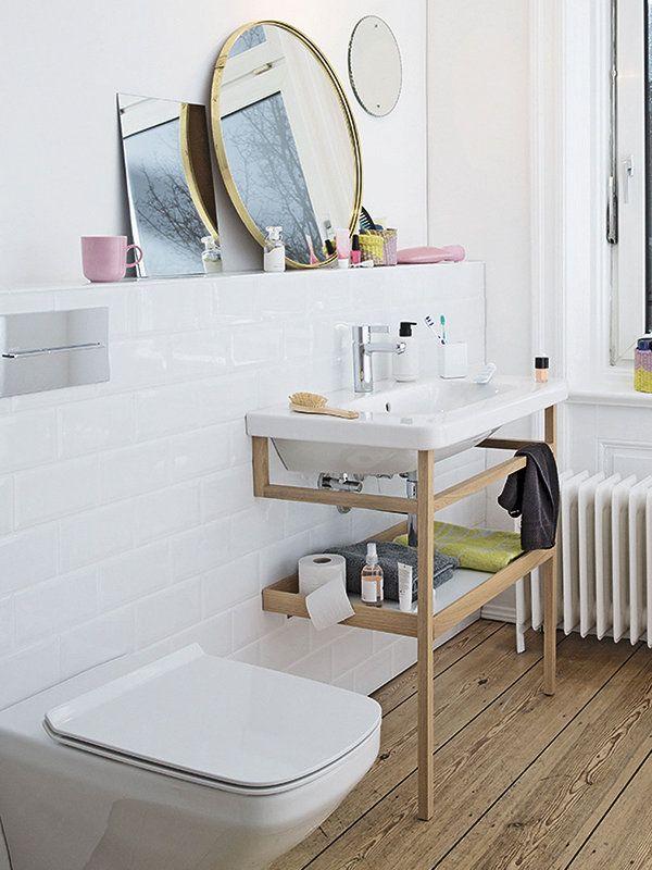 Baños cálidos y funcionales   Decoracion cuartos de baño ...