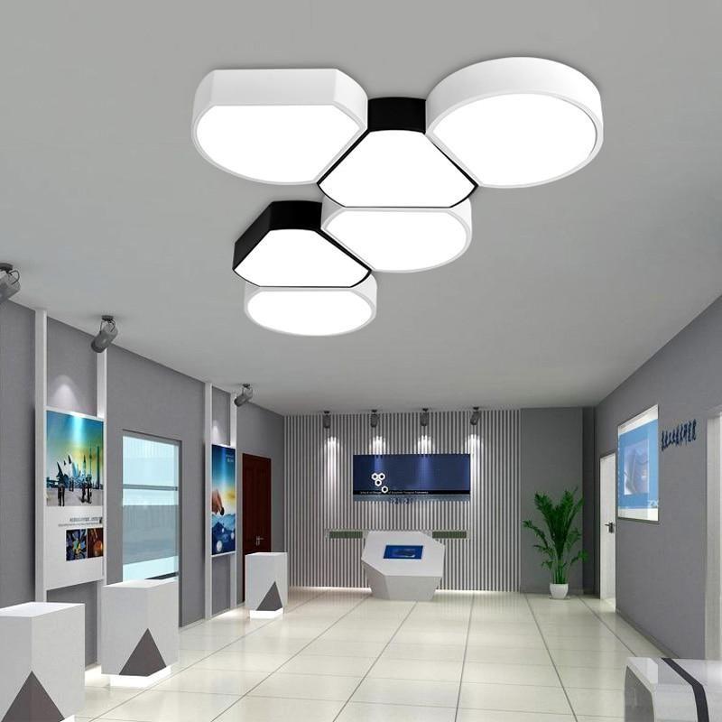 Modern Minimalist Office Ceiling Led Creative Living Room Bedroom