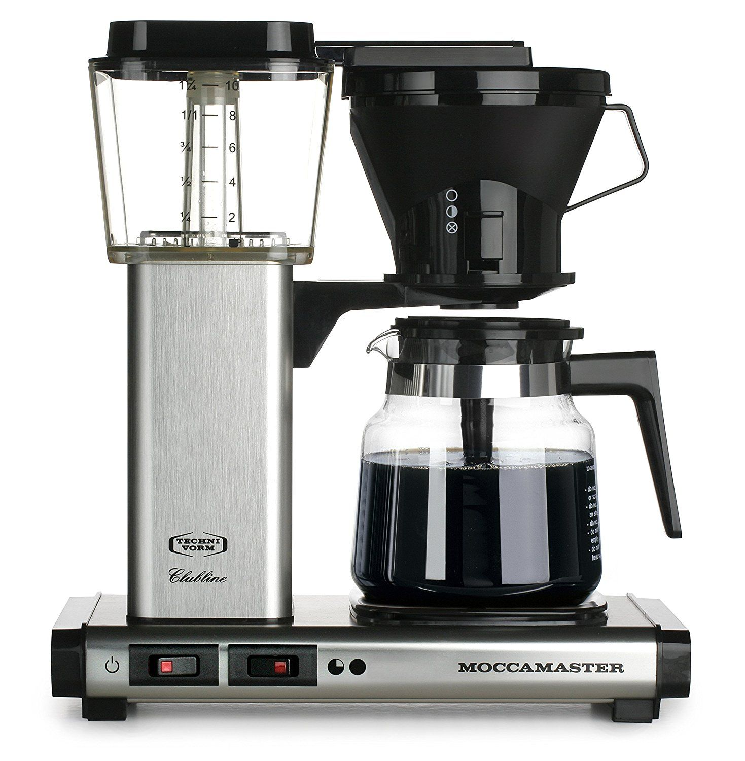 Moccamaster KB 741 10Cup Coffee Brewer with Glass Carafe