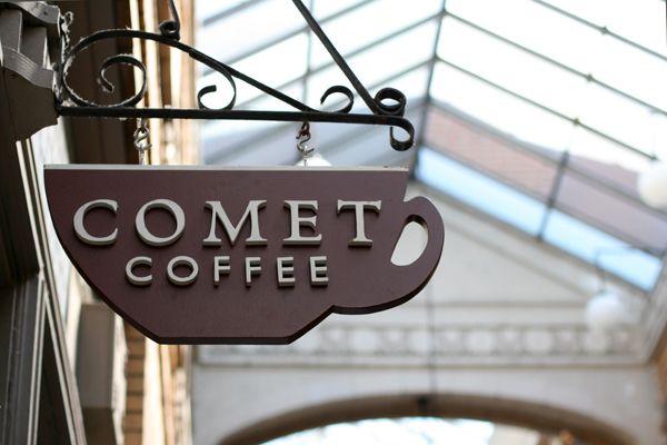 coffee shop {sign}