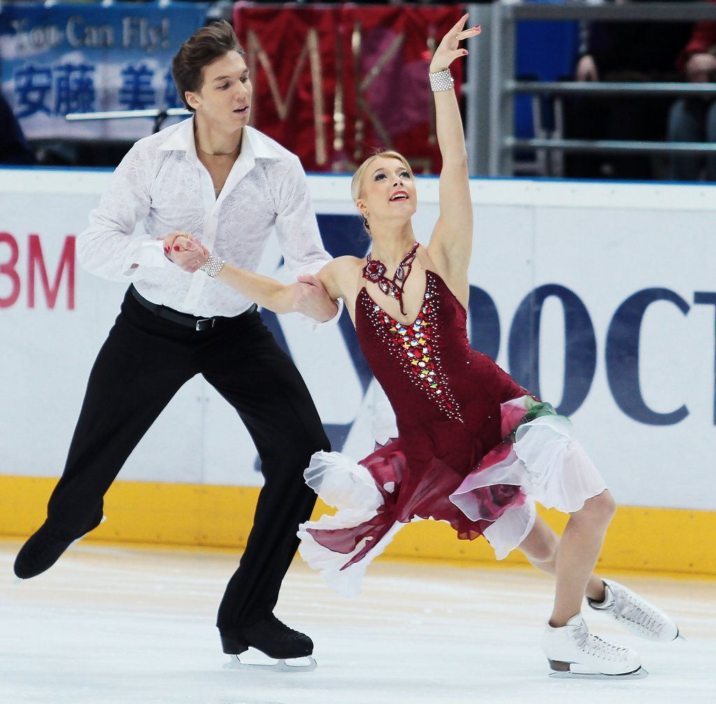 Ekaterina Bobrova Photos Photos Cup ISU Grand