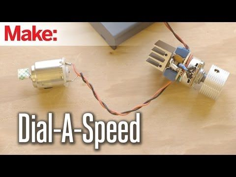 Weekend Projects - Dial-a-Speed Motor Controller - YouTube ...