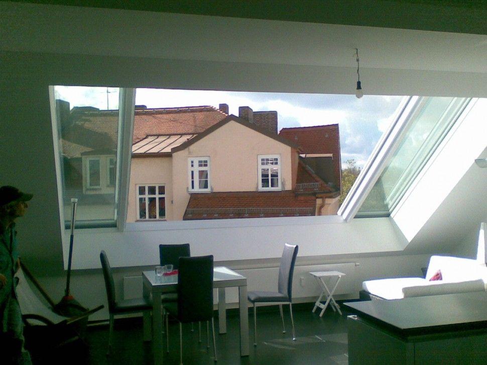 Vivavitro woonruimte schuif dakramen met schuifbare raamvleugels