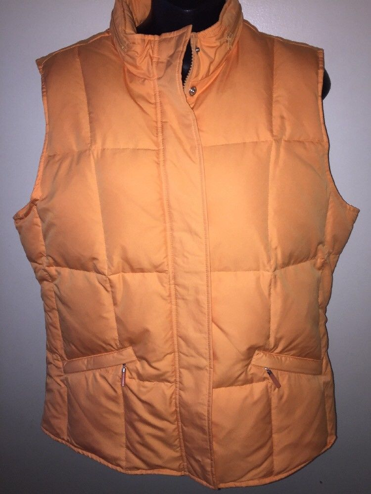 4102c5c96 Details about L.L.bean Womens Jacket Size Small Regular Goose Down ...