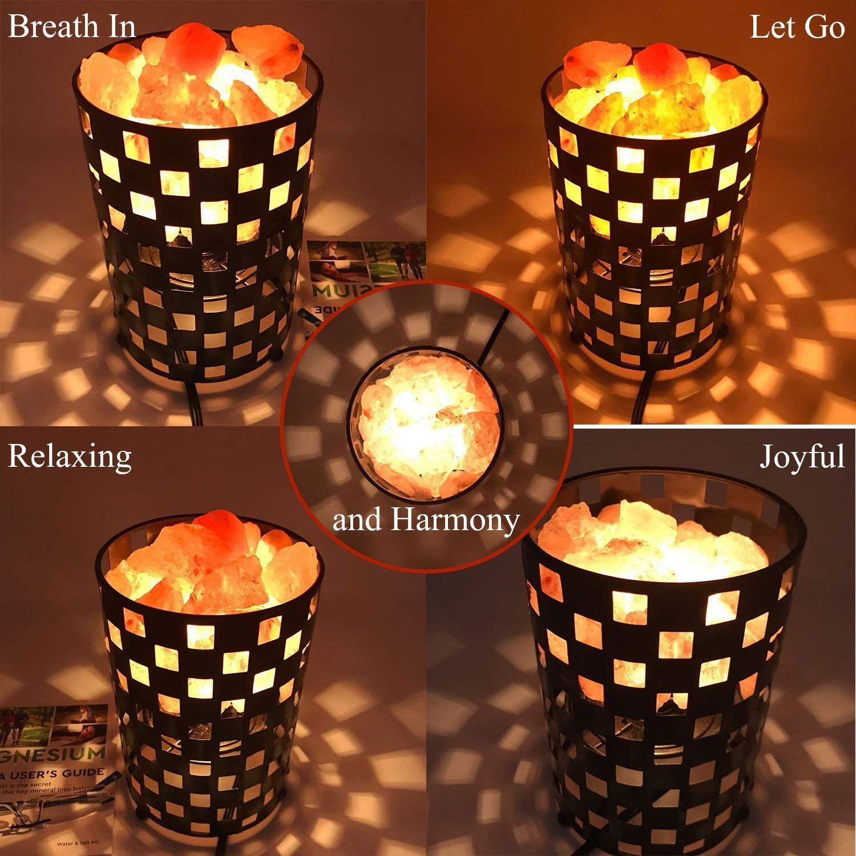 Himalayan Glow Natural Himalayan Salt Lamp Himalayan Salt Lamp Pink Himalayan Salt Lamp Lamp