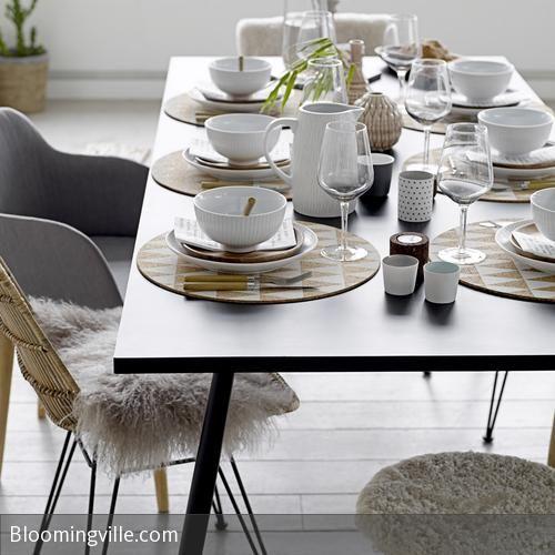 sch n gedeckter tisch sn frisk tisch deko pinterest tisch geschirr und gedeckter tisch. Black Bedroom Furniture Sets. Home Design Ideas