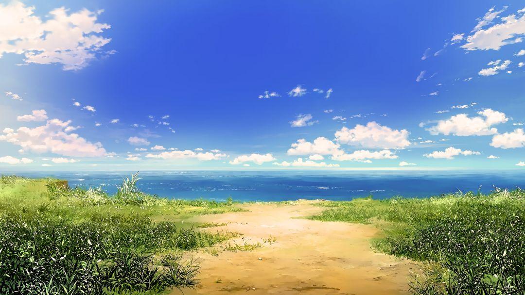 7099466b2c865ad6d0c79165d2e99399e262064c Jpg 1920 1080 Anime Scenery Landscape Wallpaper Fantasy Landscape
