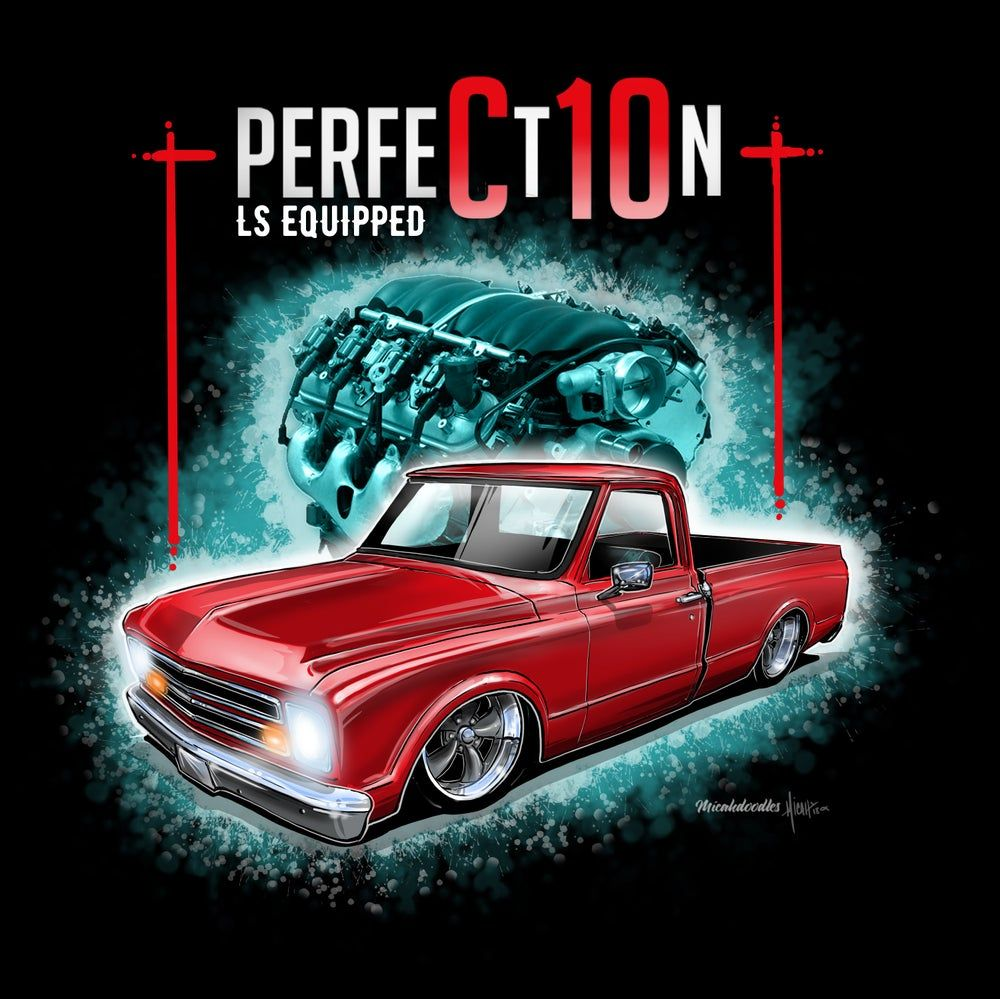 CARTOONEDTEES — LS Equipped PerfeCt10n in 2020 Rat rods