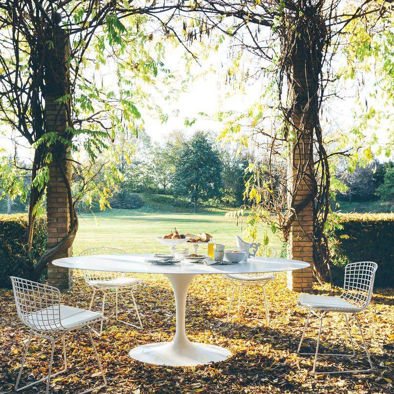 Knoll Saarinen Oval Dining Table Gartentisch Oval Tische Im Freien Saarinen Tisch