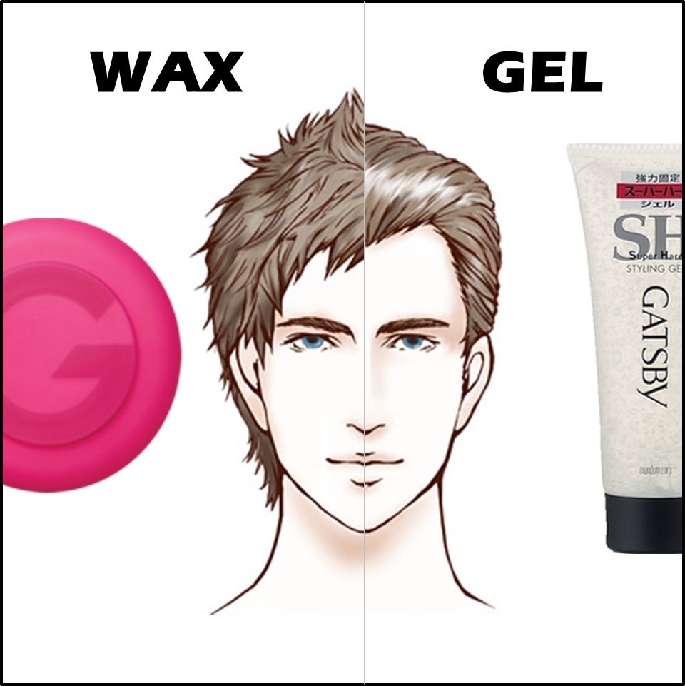 how to style hair with wax differences between hair wax and hair gel hair 9046