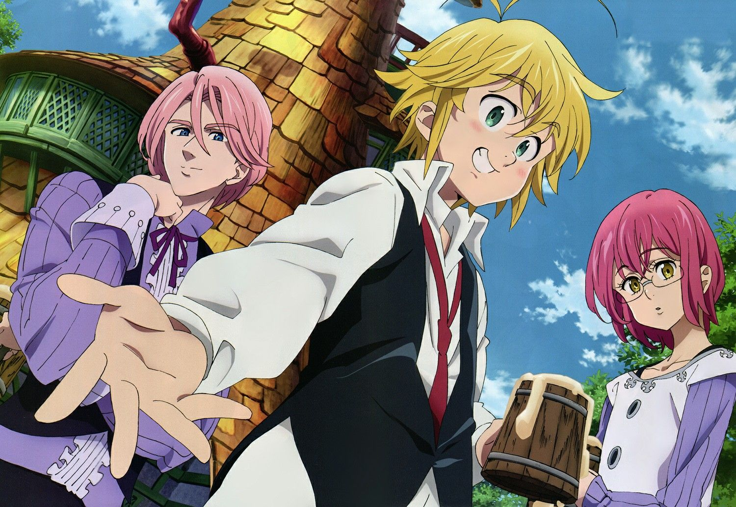 Pin By Leticia Manriquez On Anime Seven Deadly Sins Anime Seven
