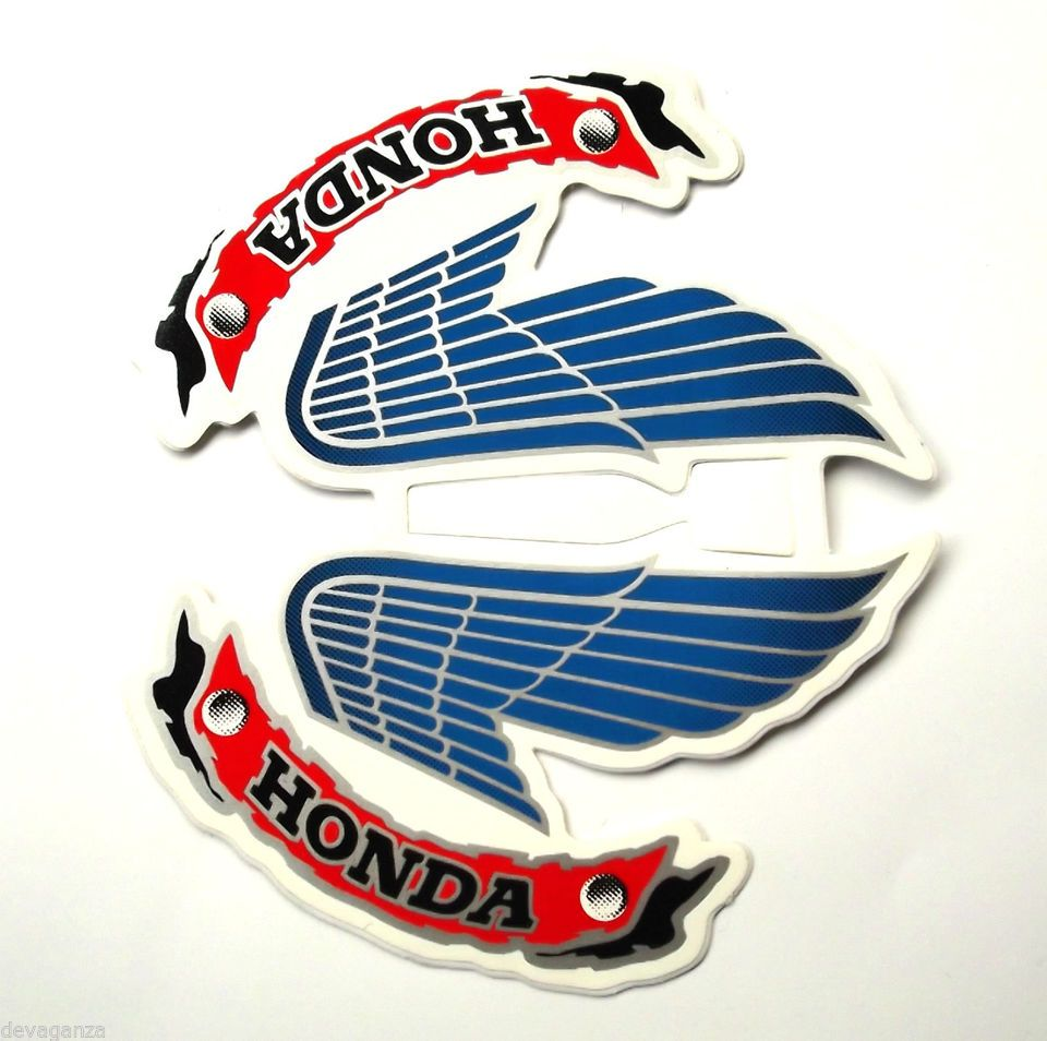 Honda motorcycles logo - Honda Wing Logo Vintage New Honda Wings Vintage Style