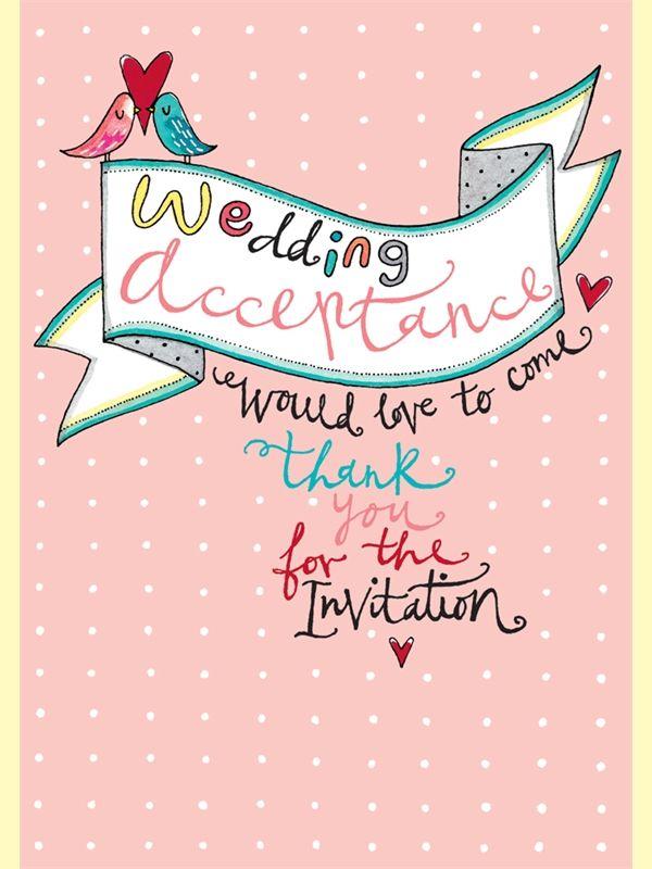 Jim15 Wedding Acceptance Birds And Heart Wedding Shop Wedding Acceptance Card Cards Wedding Shop