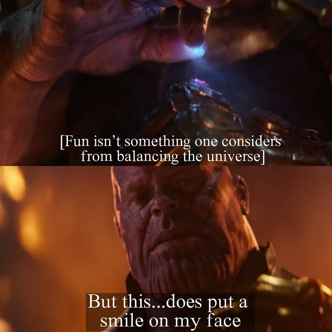 Marvel Quotes Memes On Twitter Which Thanos Is Your Favorite