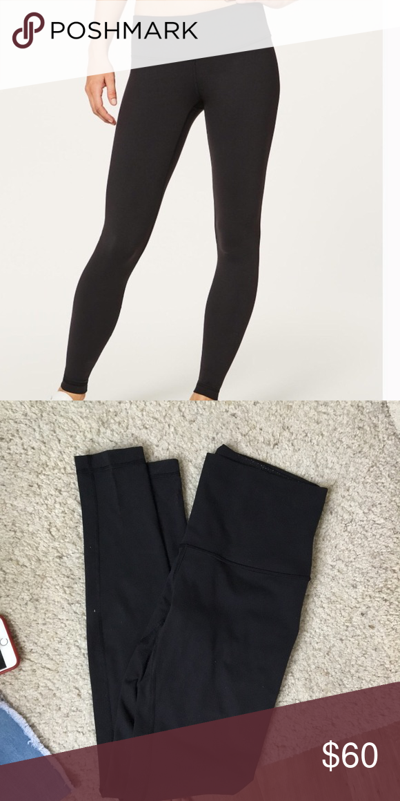 f9a472fb1db Lululemon size 8 wunder under used Used but great condition lululemon  athletica Pants Leggings