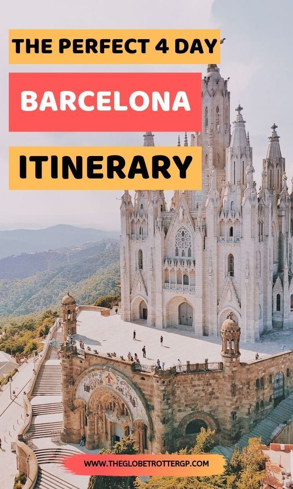 If you're visiting Barcelona in 4 days for a European city break, then use this 4 day Barcelona itinerary to help you plan the perfect Barcelona trip as a standalone Europe weekend getaway or as part of a larger Europe trip.   Barcelona travel tips | Spain travel tips  | Barcelona tips and travel advice fo europe   #barcelona #barcelonaitinerary #europeancitybreaks #europe #citybreaksineurope