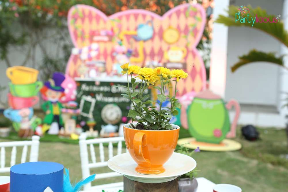 Wonderland Tea Party.. | CatchMyParty.com