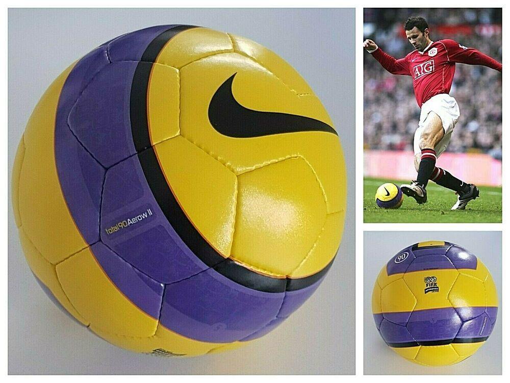 genio Trágico recinto  NIKE T90 AEROW II 2006/07 OFFICIAL MATCH BALL BPL FOOTBALL SOCCER FIFA  APPROVED #Nike | Soccer fifa, Vintage sportswear, Soccer