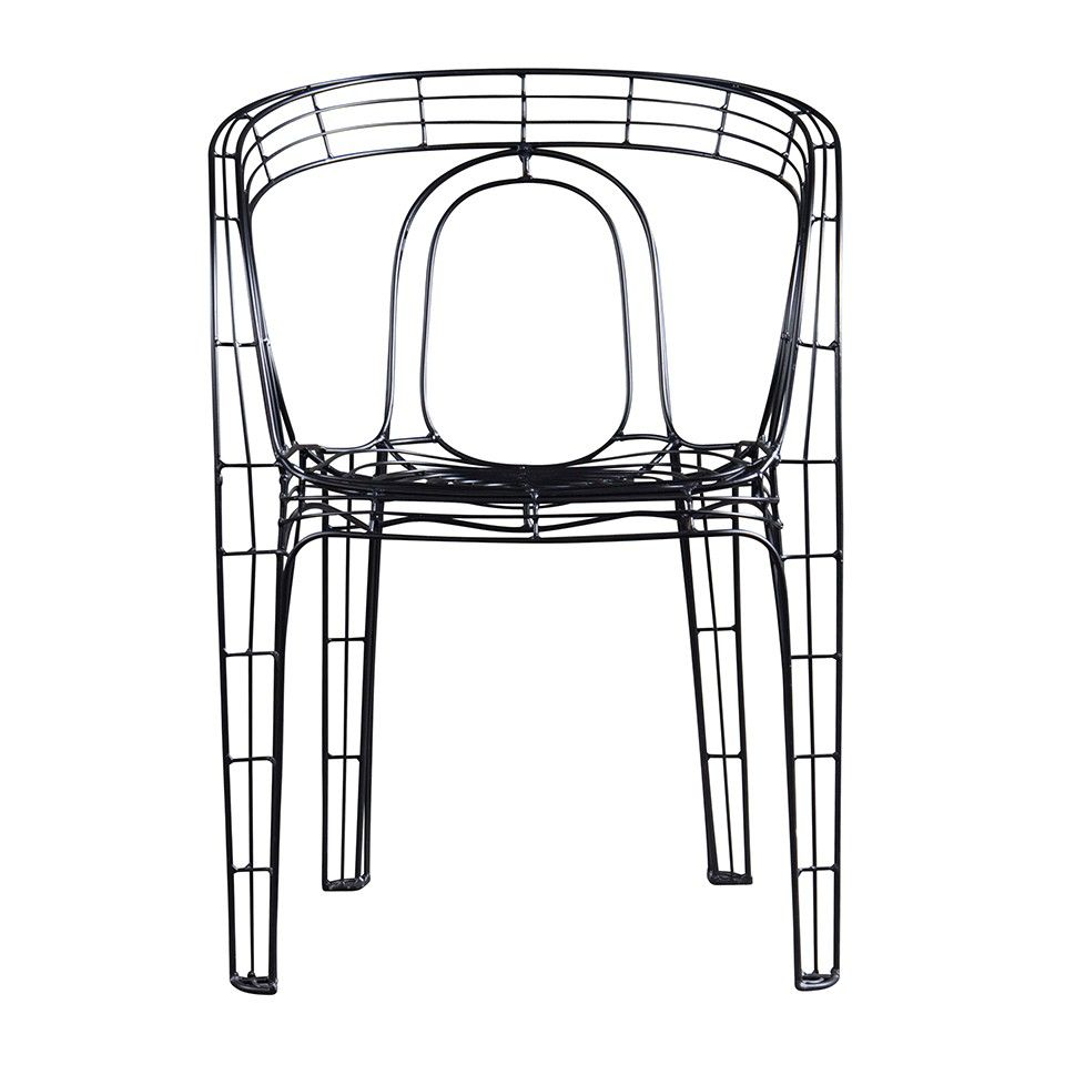 WIRE BLACK ARMCHAIR   Living   HD Buttercup Online U2013 No Ordinary Furniture  Store U2013 Los