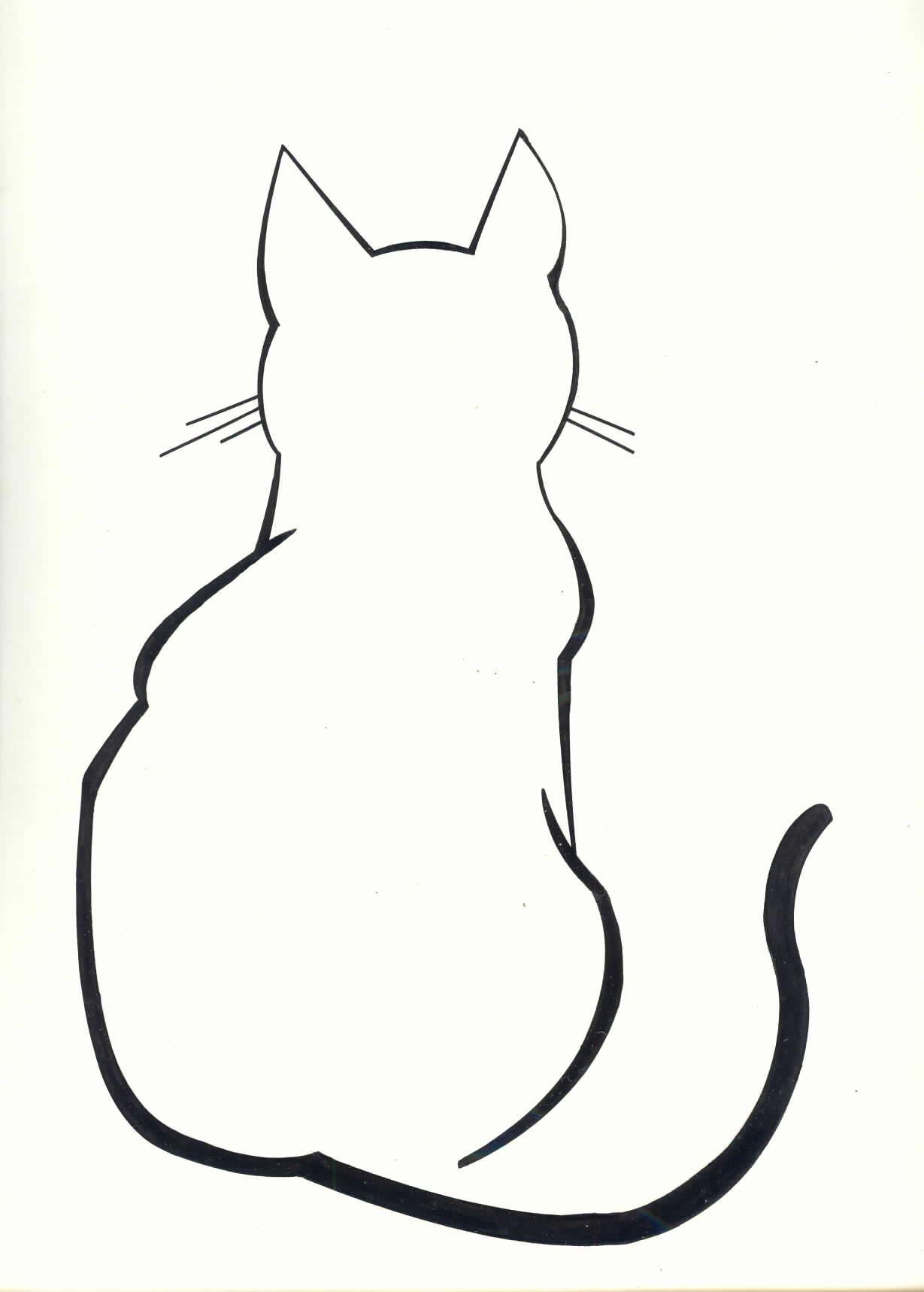 Diy Cat Silhouette Pillow Cases