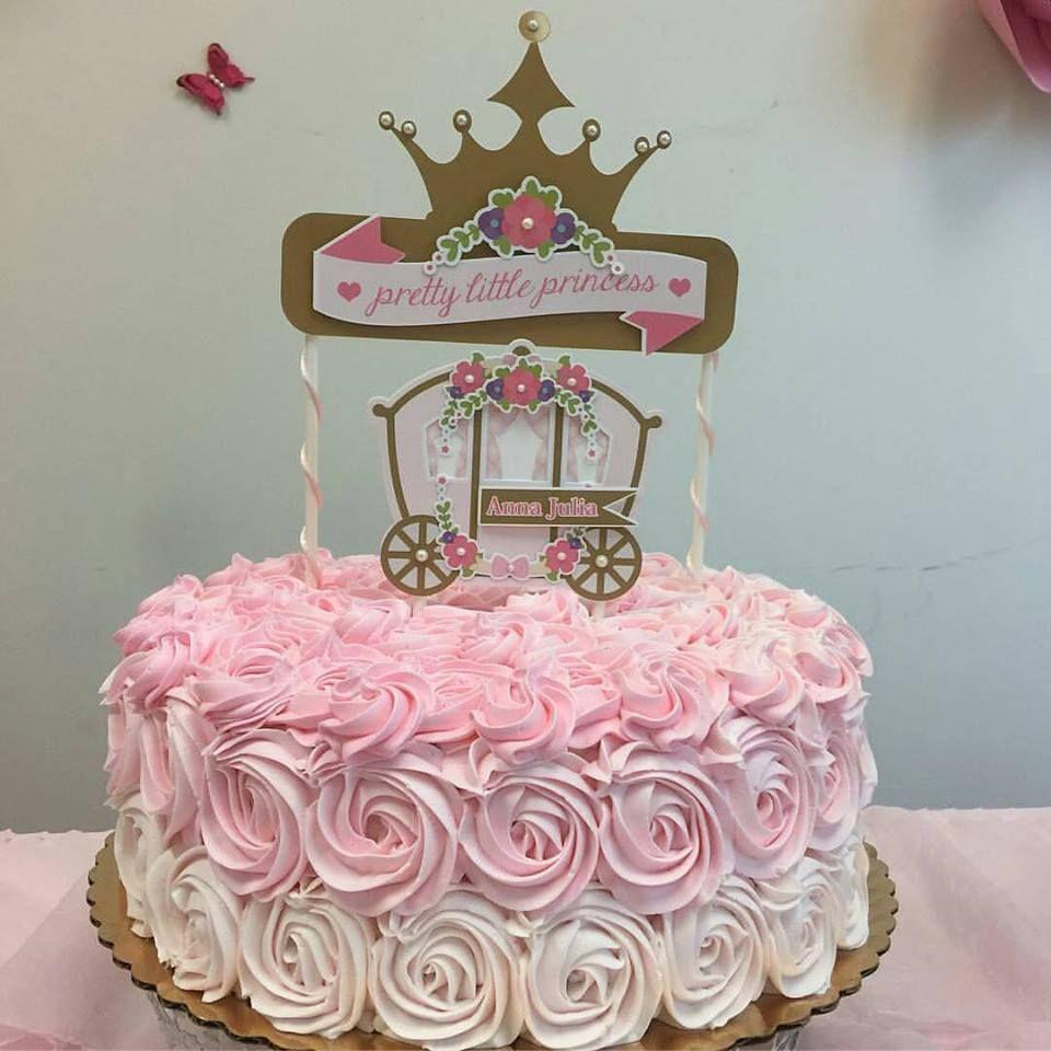 Mais De 20 Ideias De Bolos Com O Tema Princesa Realeza Com