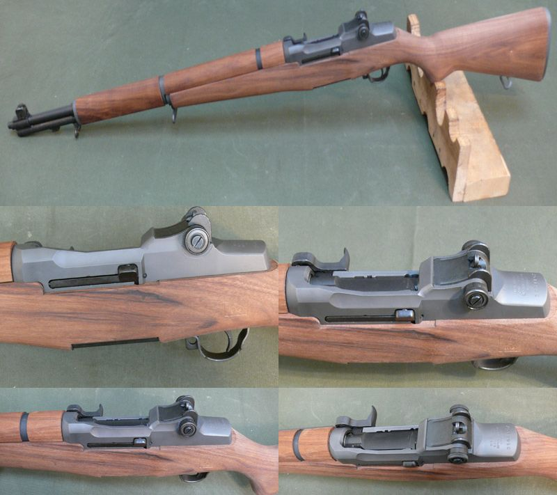 The M1 Garand, no military arms collection would be complete without one.