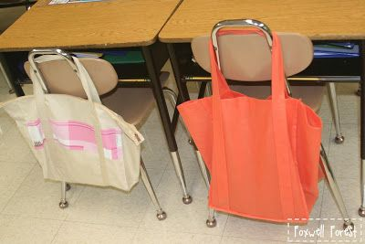 Book Bags Instead Of Book Boxes For The Daily 5 First Grade In
