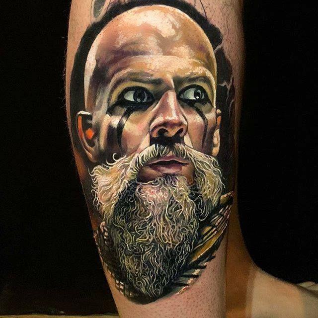 Floki Tattoos: Valhallavikingsvibes: Floki Tattoo By @kristiankimonides