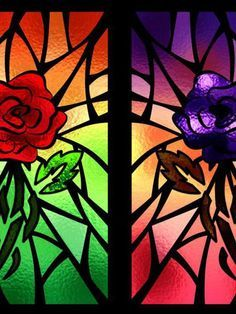 Color Stained Window