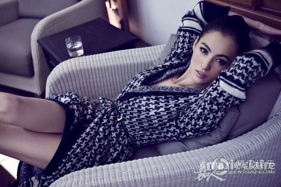 Cecilia Cheung by Chen Man for Marie Claire China