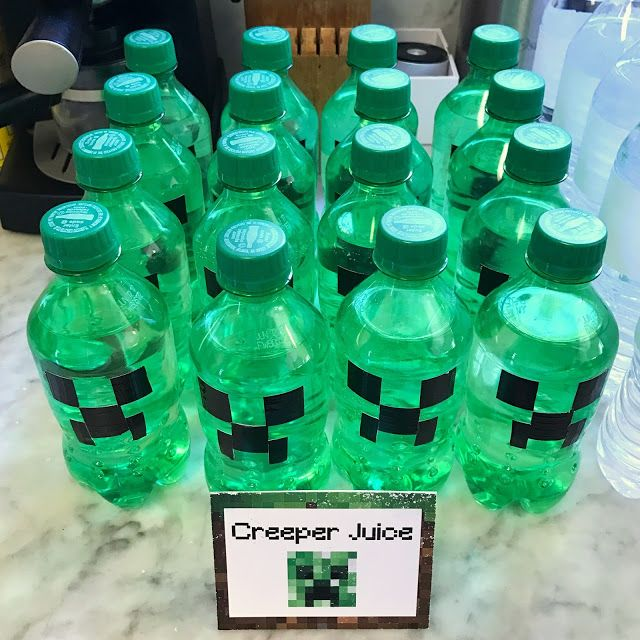 Minecraft-Themed 5th Birthday Party (with Printables