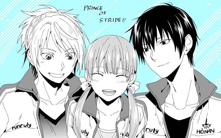 Prince of Stride - Riku, Nana, & Takeru by むいこ on pixiv