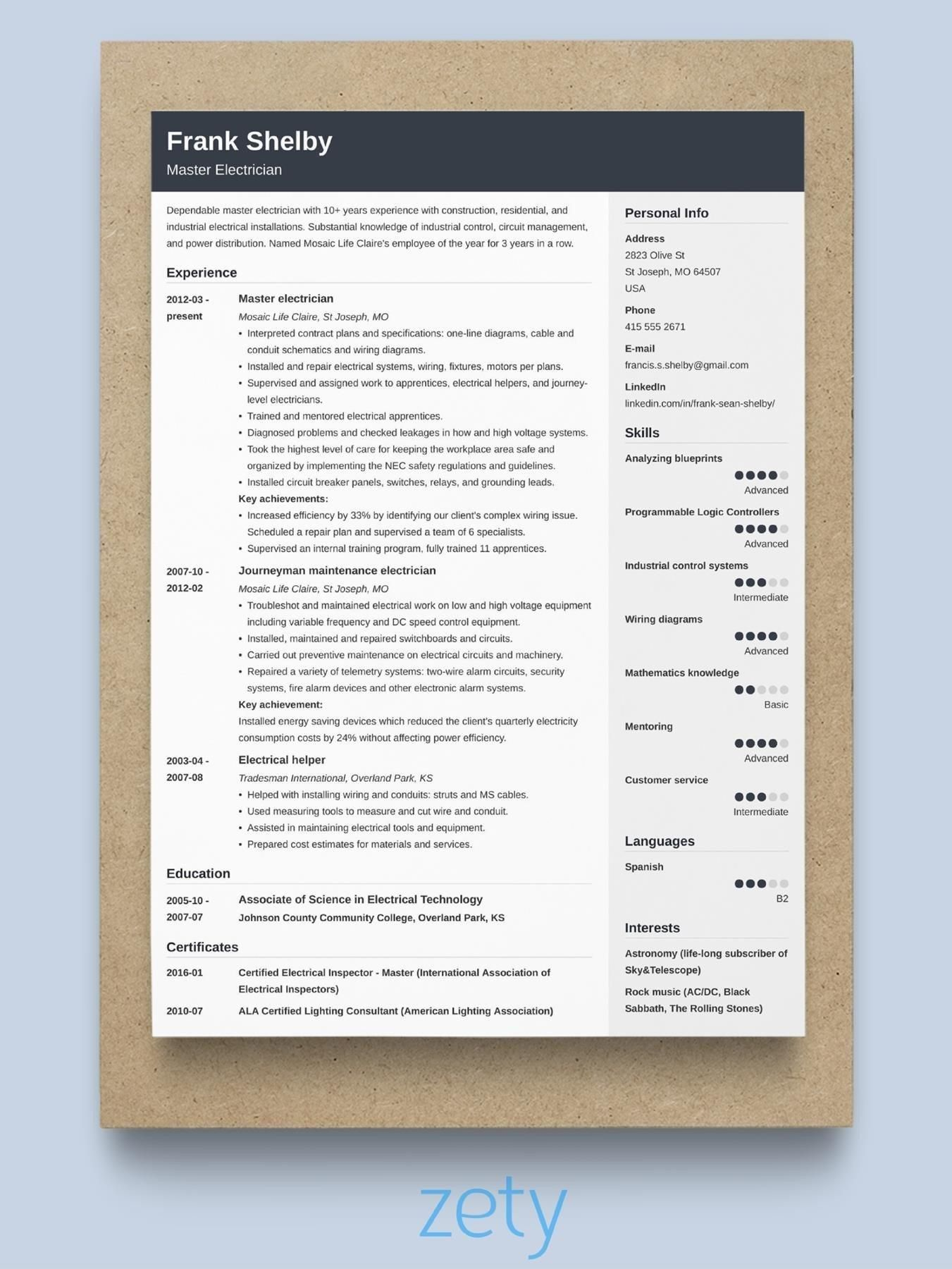Executive Resume Templates 2020 in 2020 (With images