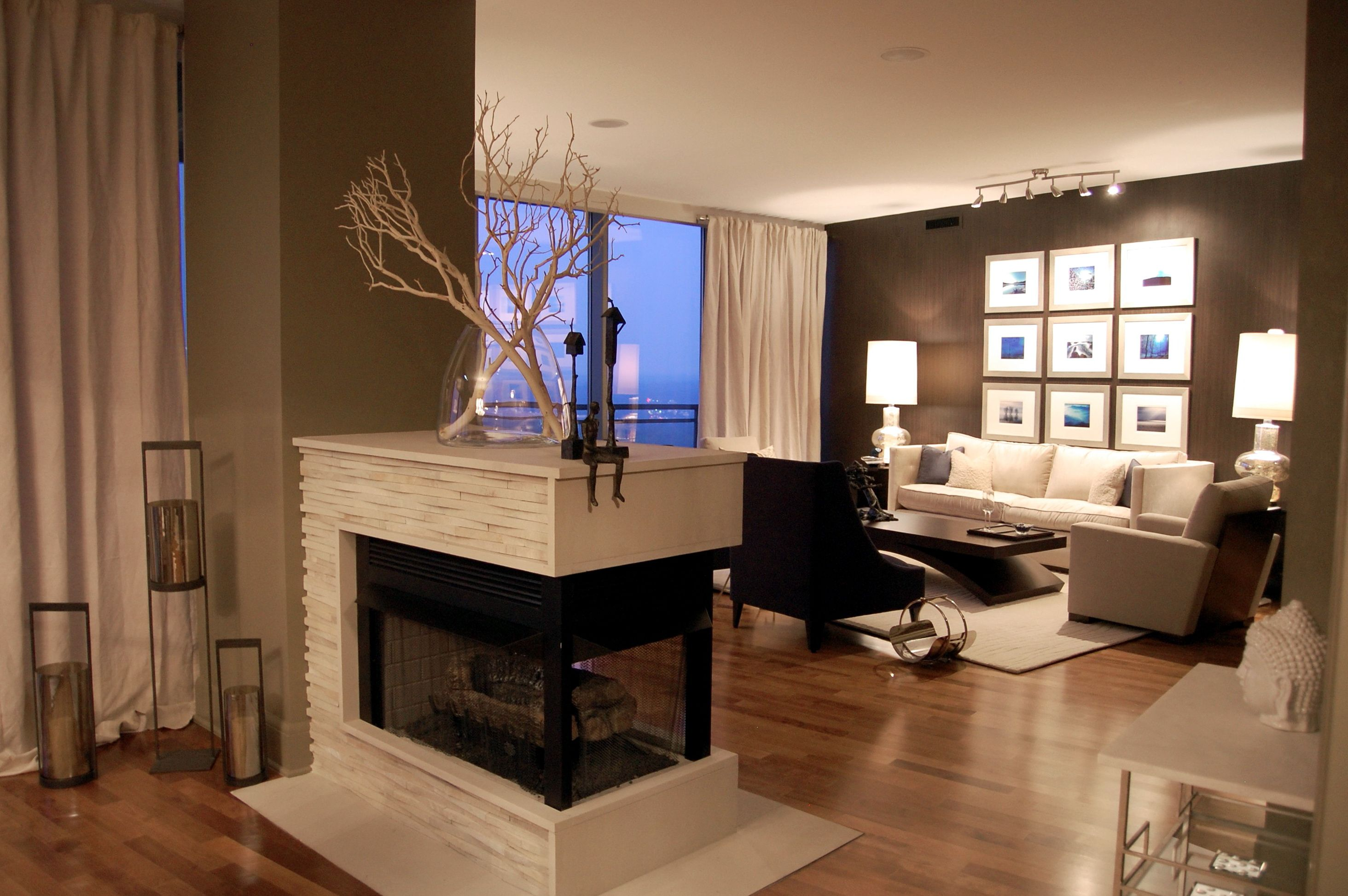 3 Sided Fireplace Insert  | Ideas for the House ...
