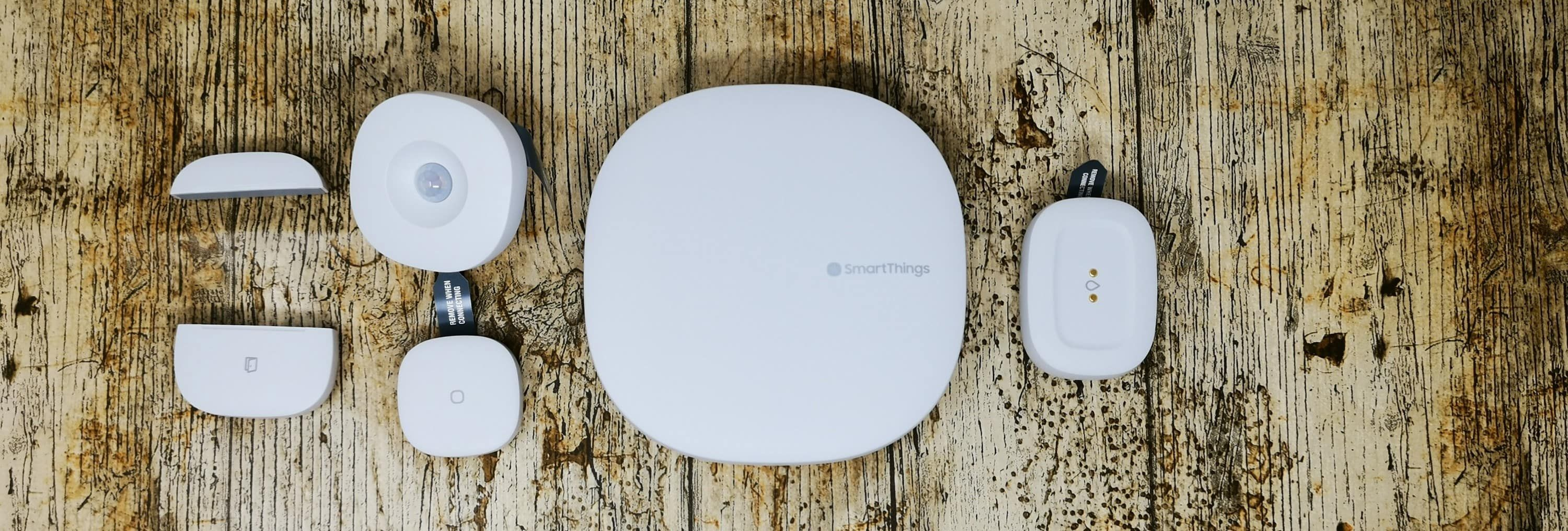 Samsung SmartThings Review 2018 V3 Hub and sensors