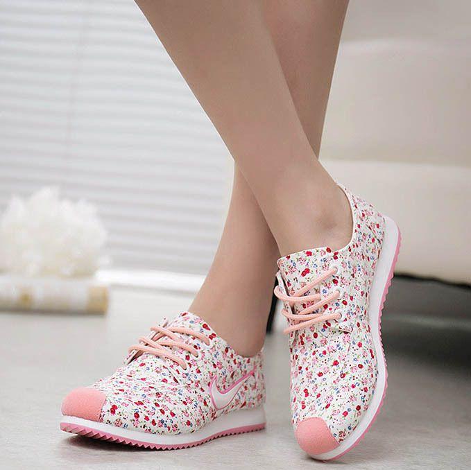 reputable site 99b79 6d948 Nuevas-deportivas-de-mujer-a-la-moda-zapatos-de-lona-zapatillas-de-marca- para-correr-de
