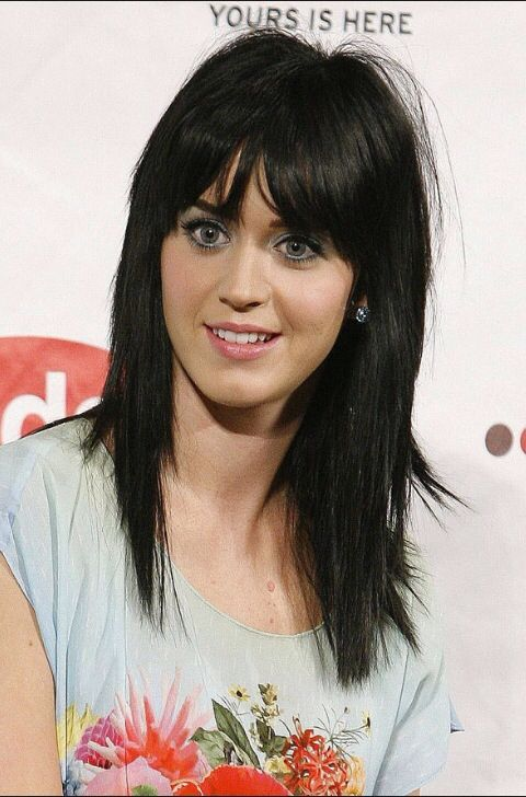 Katy Perry Punk Hairstyle With Bangs Hurrstyles Pinterest
