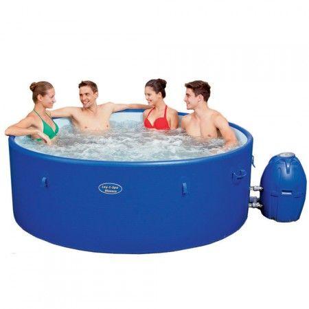 Bestway Lay Z Spa Monaco piscina idromassaggio riscaldata