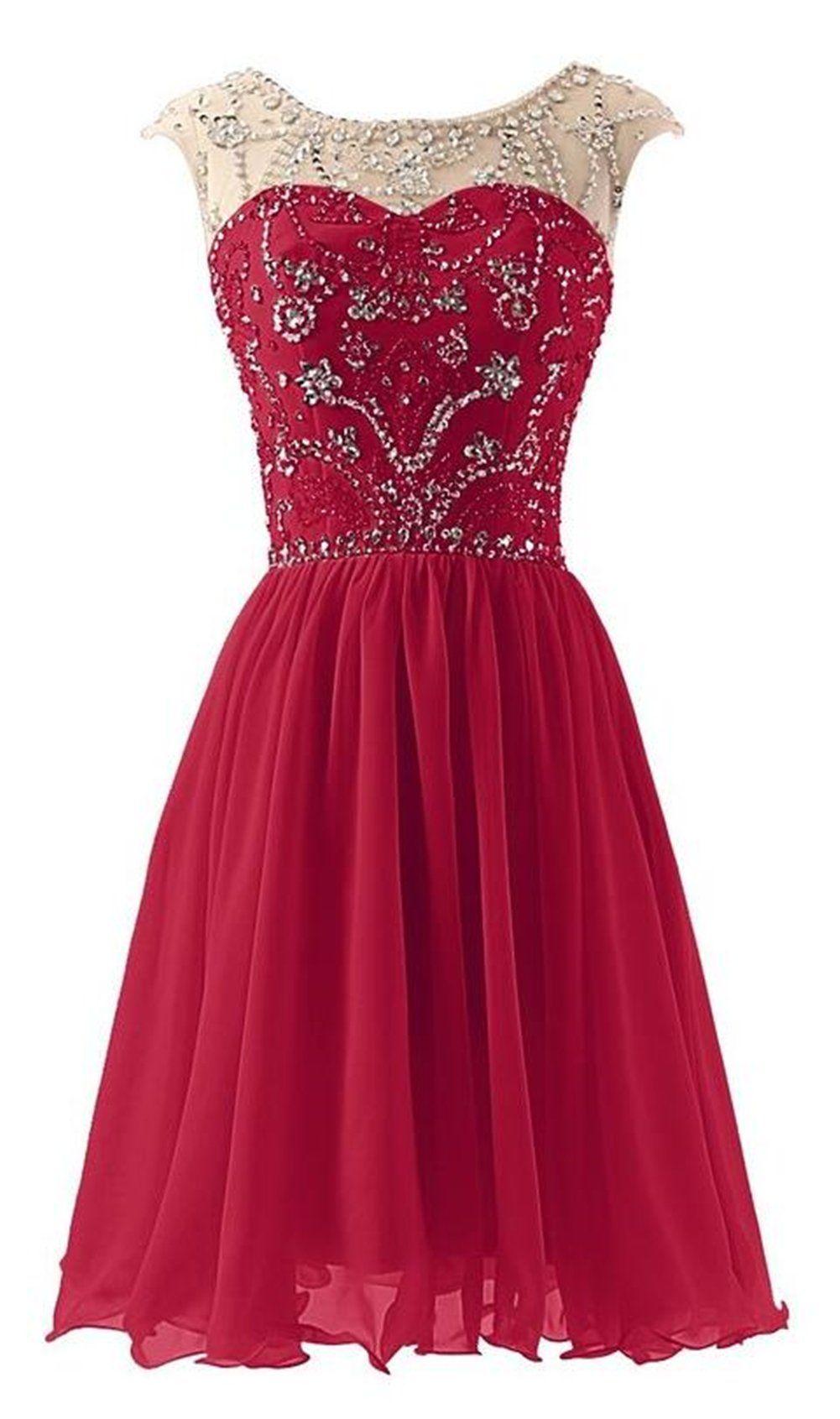 Endofjune short elegant sweetheart beaded formal homecoming dress us