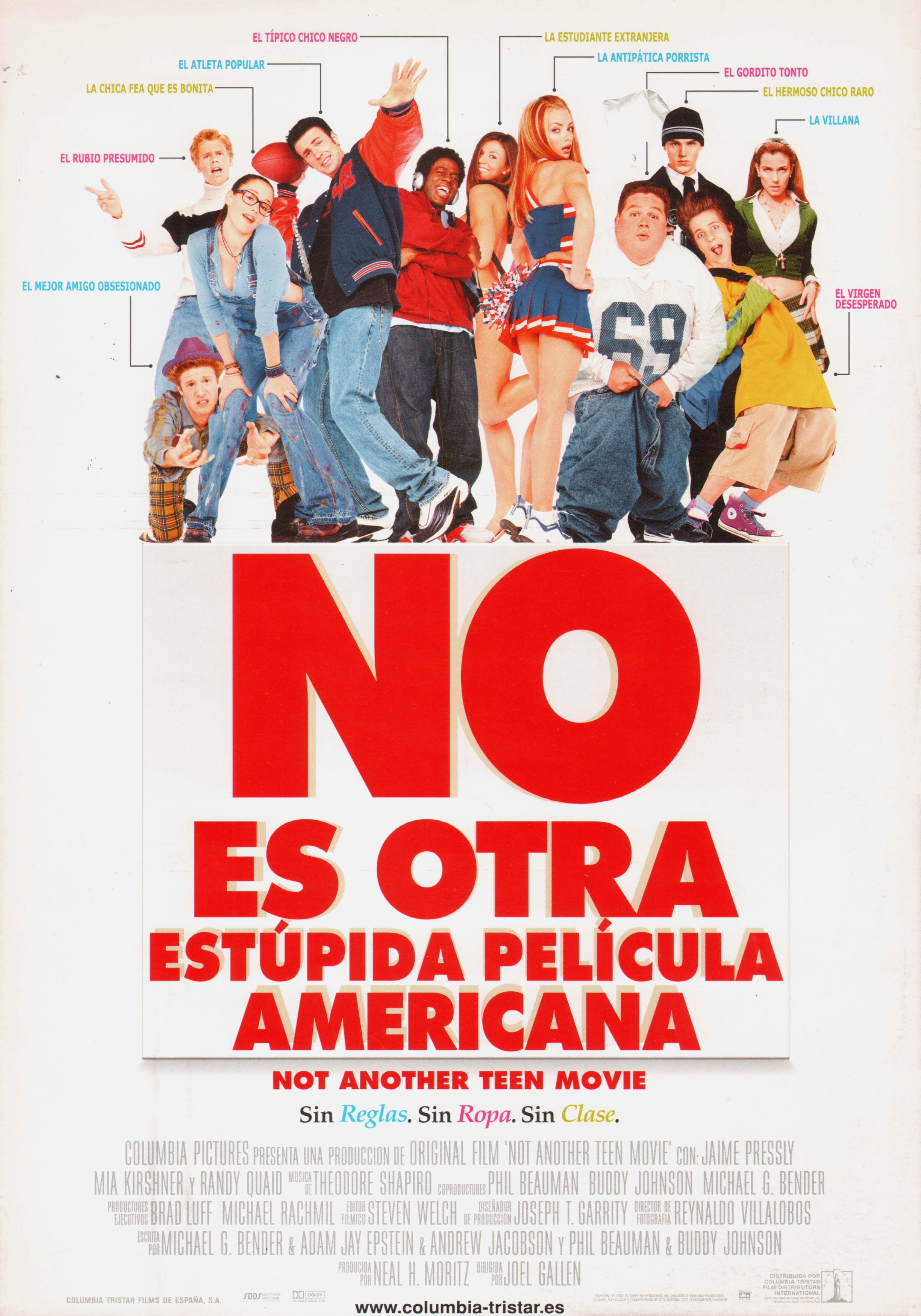 No Es Otra Estupida Pelicula Americana Not Another Teen Movie