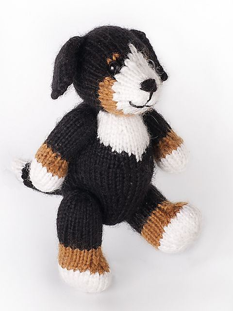 Fudge the Dog by Fuzzy Mitten | Knitted/crochet toys | Pinterest ...