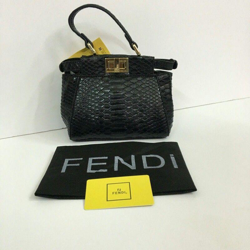 فندي ميني 270 ريال Fendi Top Handle Bag Hermes Kelly