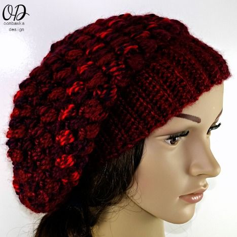 Pretty Cluster Stitch Slouch Hat Slouch Hats Free Crochet And Crochet