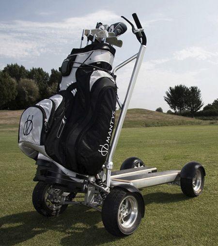 Motorized Golf Cart Scooter Golf Bags Golf Carts Golf