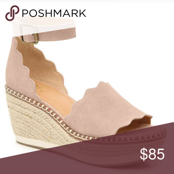 0fa5d766e14 DAFFODIL ESPADRILLE WEDGE SANDAL Spruce up warm-weather looks with the  Daffodil sandal from Crown Vintage. These platforms feature feminine  scalloped ...