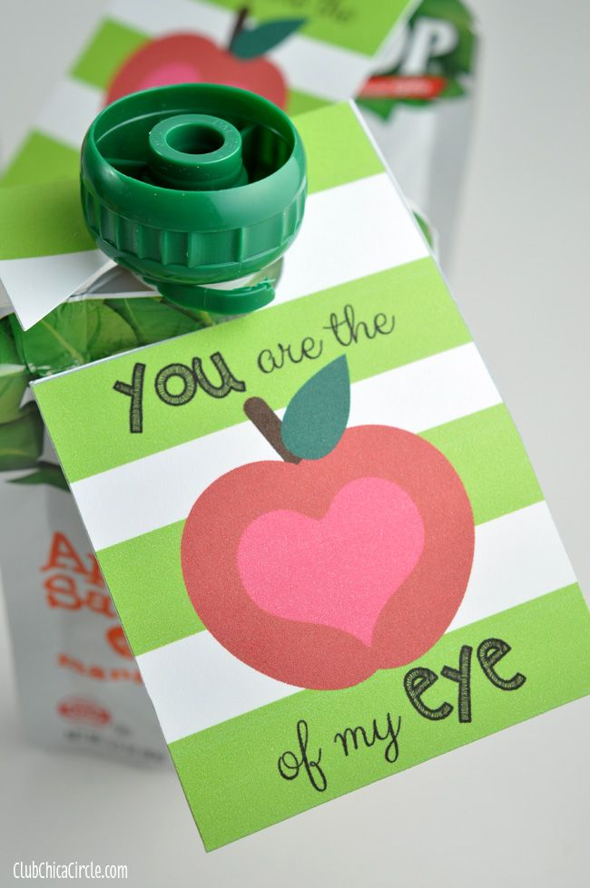 You Are The Apple Of My Eye Free Printable Tag Valentines Printables Free Birthday Card Sayings Birthday Cards For Women