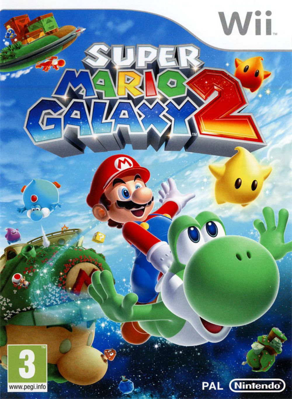 Super Mario Galaxy 2 (2010) - Jeu vidéo - SensCritique