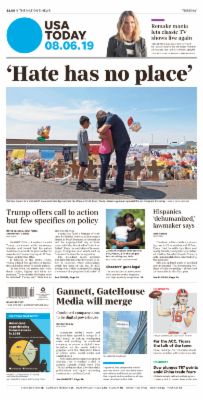 Usa Today 6 August 2019